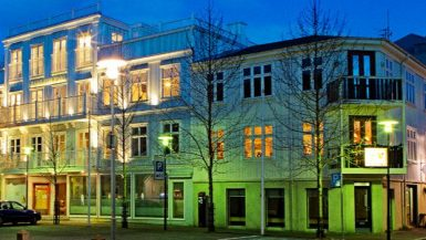 Top 10 hotels in Reykjavik