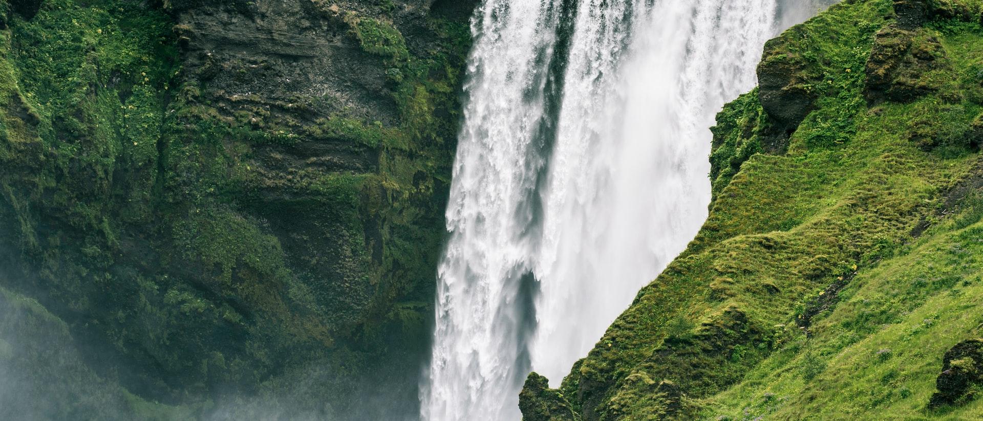 Avontuur in IJsland - Skogafoss waterval